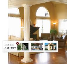 interior columns for homes endura tapered fiberglass columns exterior columns