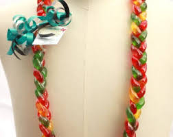 Where To Buy Candy Leis Candy Lei Etsy