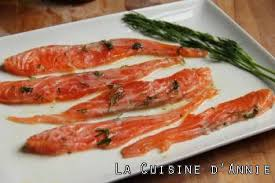 cuisine saumon recette saumon mariné façon gravlax la cuisine familiale un plat