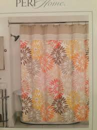 Orange Shower Curtains Blue And Orange Shower Curtain 100 Images Shower Curtain