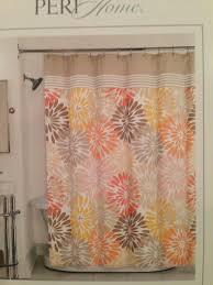Peach Floral Curtains Social Proper Peach Ombre Shower Curtain Deny Designs Home Peach