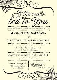 wedding invitations format wordings for wedding invitations vertabox