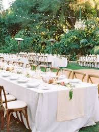 Outdoor Backyard Wedding Reception Ideas Pin By Maηon On Wedding Table Pinterest Mariage