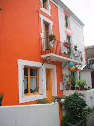 inspirations home outside orange trends and best paint for house