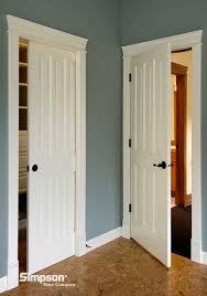 Six Panel Closet Doors Interior Raised Panel Doors 46 Pocket And Standard View Door