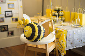 bumblebee pinata bumble bee birthday party messymom