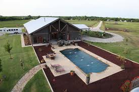 full metal building home with epic pool u0026 stable 10 hq pictures