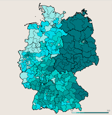 Cold War Germany Map German Election Results Map Where The Afd Won In Germany