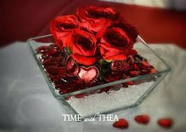 Red Rose Table Centerpieces by Valentine Flower Table Arrangements U2013 Thelt Co
