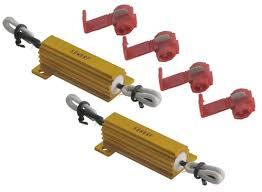 load resistors for led lights are load resistors needed for led backup and brake tail lights