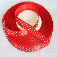 polka dot ribbon 3 8 10mm 15yards satin polka dot ribbon klmalls