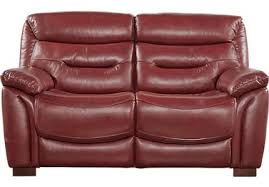 Leather Loveseats Red Leather Loveseats