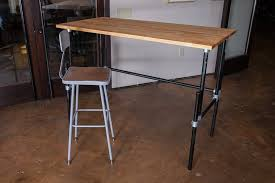 Adjustable Standing Desk Diy Effortless Diy Adjustable Standing Desk Boundless Table Ideas