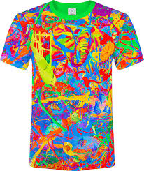 Tree Shirt Elephant Pegion Splash Paint Island Tree Time