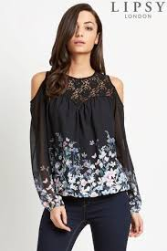 cold shoulder tops cold shoulder tops blouses cold shoulder lace shirts next