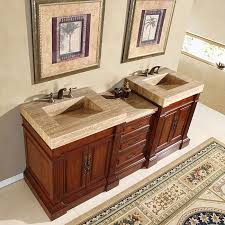 Vessel Sink Vanity Top 72 Double Sink Vanity Vintage Tobacco Design Double Sink Vanity