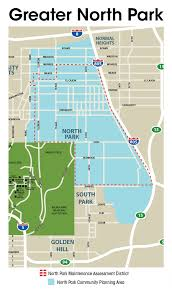 Map Of Downtown San Diego by The Community Organizations Of Greater North Park San Diego