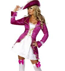 Female Pirate Halloween Costume Cosplay Ponytail Picture Detailed Picture Female