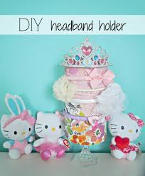 headband holder diy headband holder a brighter