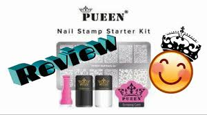 closed giveaway pueen nail stamp starter kit review and demo