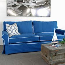 Living Room With Blue Sofa by Sightly Blue Couch Plus Blue Couch In Blue Sofa 375245