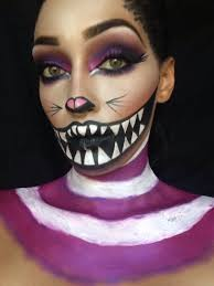 halloween cat makeup we u0027re all mad here u201d cheshire cat cheshire cat makeup cheshire