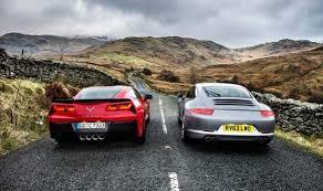porsche 911 vs corvette top gear corvette stingray vs porsche 911 corvette sales
