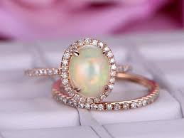 jewelers wedding rings sets opal promise rings antique opal engagement rings bbbgem