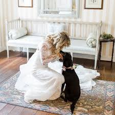 The Wedding Dress Wedding Ideas That Incorporate Your Fur Baby Into The Big Day Brides