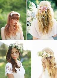 coiffure mariage cheveux lach s des idées coiffures pour la mariée aux cheveux longs