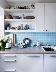 ikea corner kitchen cabinet shelf open shelving mixed with cabinets for the best of both