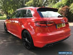 audi for sale by owner 2013 13 audi a3 2 0 tdi s line 5 door 1 owner for sale in the