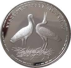 200 forint white storks hungary u2013 numista