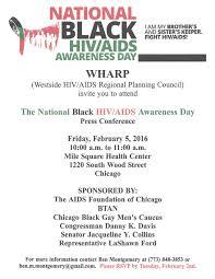 la shawn k ford invitation to national black hiv awareness day