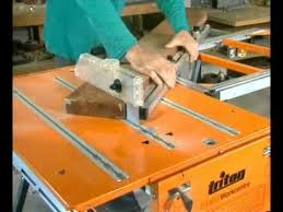 triton saw bench for sale 330075 triton maxi sliding extension table eta300 youtube