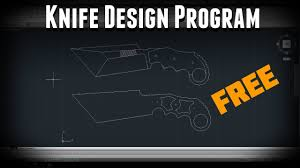 how to download autocad free for designing knives youtube