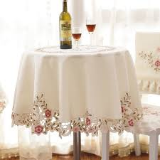 round table cloth covers online shop 2018 new home textile elegant round table cloth with