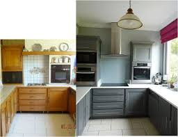 relooking cuisine avant apr鑚 idée relooking cuisine cuisine satinelle basalte listspirit