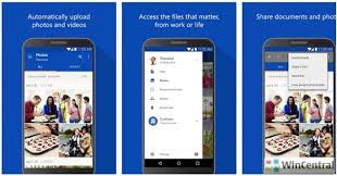 onedrive app for android microsoft onedrive app for android gets updated changelog