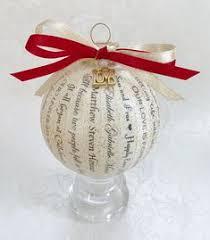 personalized wedding ornament ornament happy