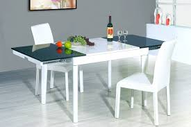 Modern Dining Room Sets For Small Spaces - modern white dining room 10913