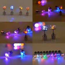 led earrings multi color light up earrings led earrings led magnetic earring