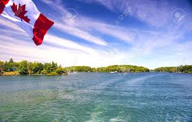 Thousand Islands by Lake Ontario Saint Lawrence River And Thousand Islands National