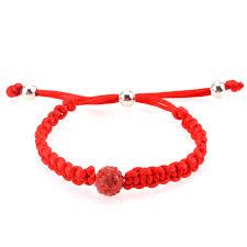 cord braid bracelet images Adjustable braided friendship bracelet red jpg