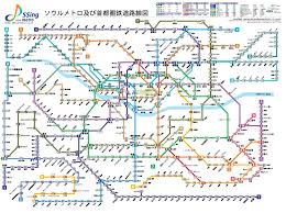 Tokyo Subway Map by Package Korea Info Seoul Subway Map