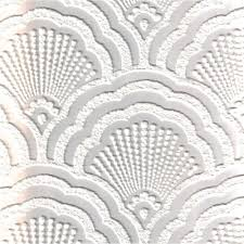 fine decor supatex shell pure white textured paintable wallpaper