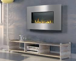 amazing log and gas modern fireplace design with log insert with