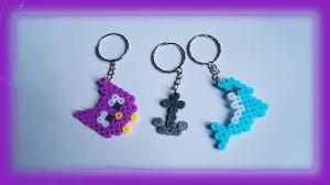 make key rings images Tutorial hama beads pyssla perler beads how to make key rings jpg
