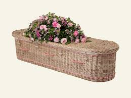 wicker casket willow coffins endings