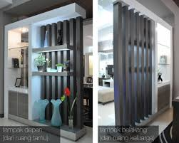 room divider di living room sesby interior design amp build wall